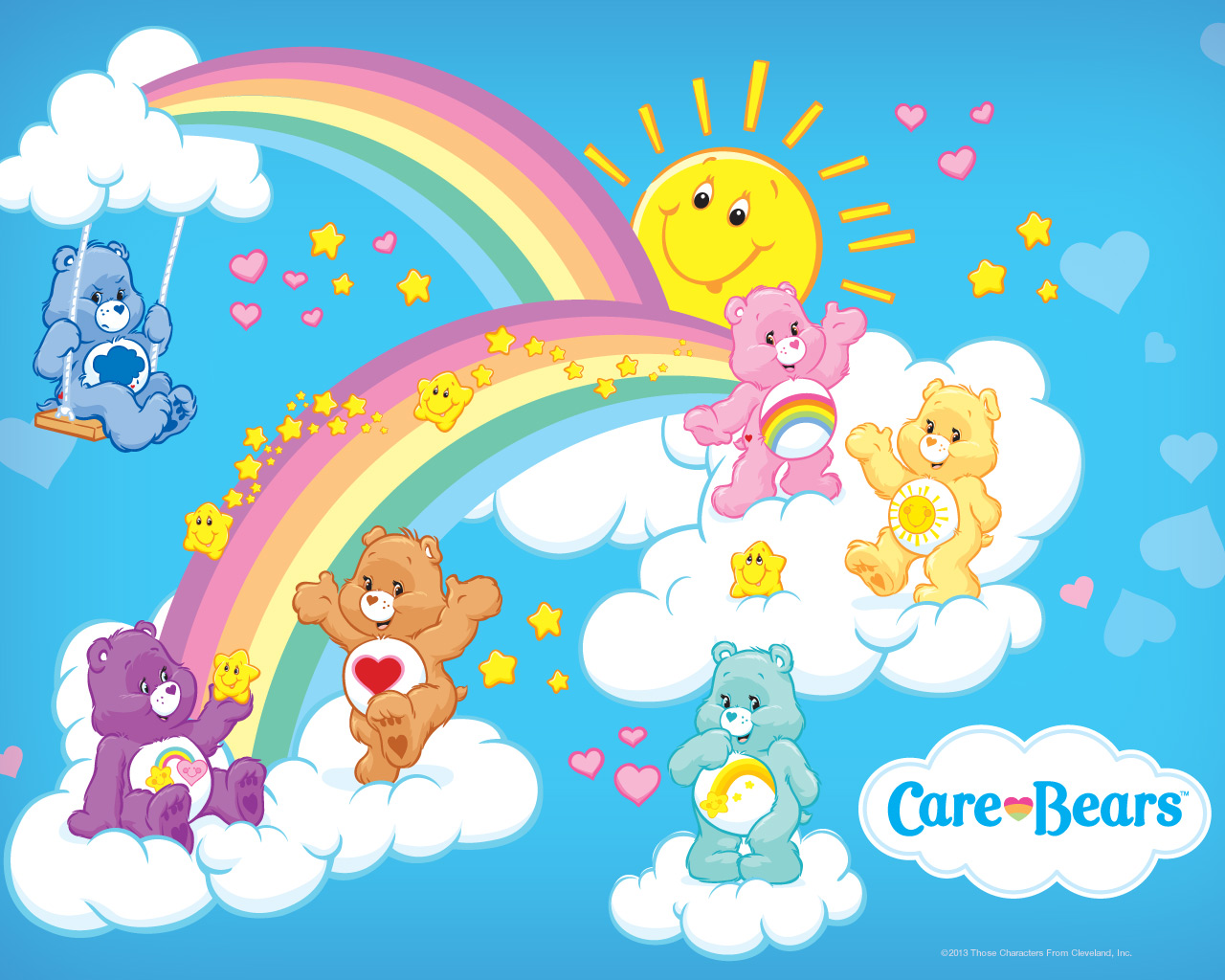 Care Bears Backgrounds, Compatible - PC, Mobile, Gadgets| 1280x1024 px