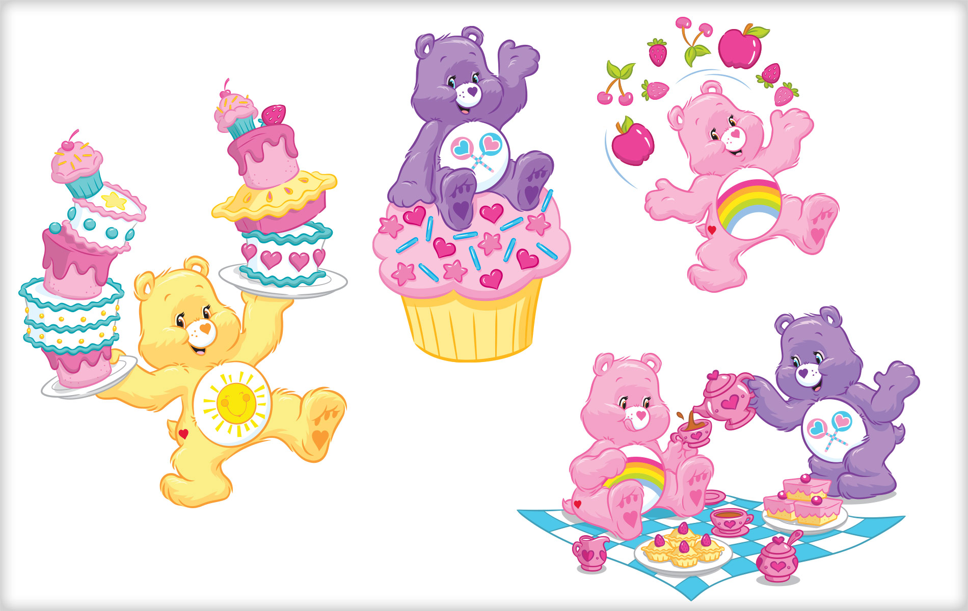 HQ Care Bears Wallpapers | File 335.09Kb
