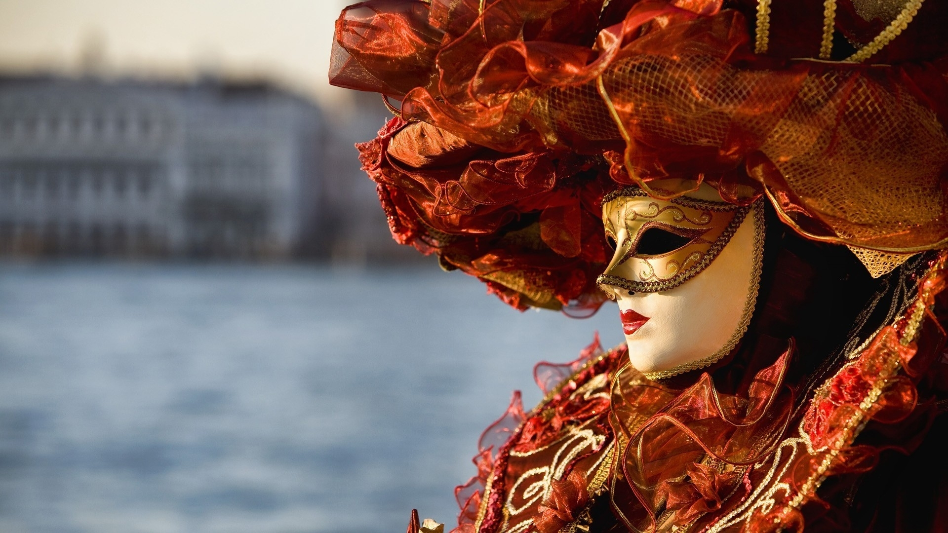 HD Quality Wallpaper | Collection: Photography, 1920x1080 Carnival Of Venice