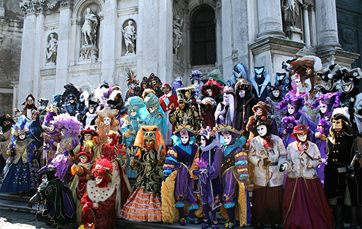 HD Quality Wallpaper | Collection: Photography, 520x330 Carnival Of Venice