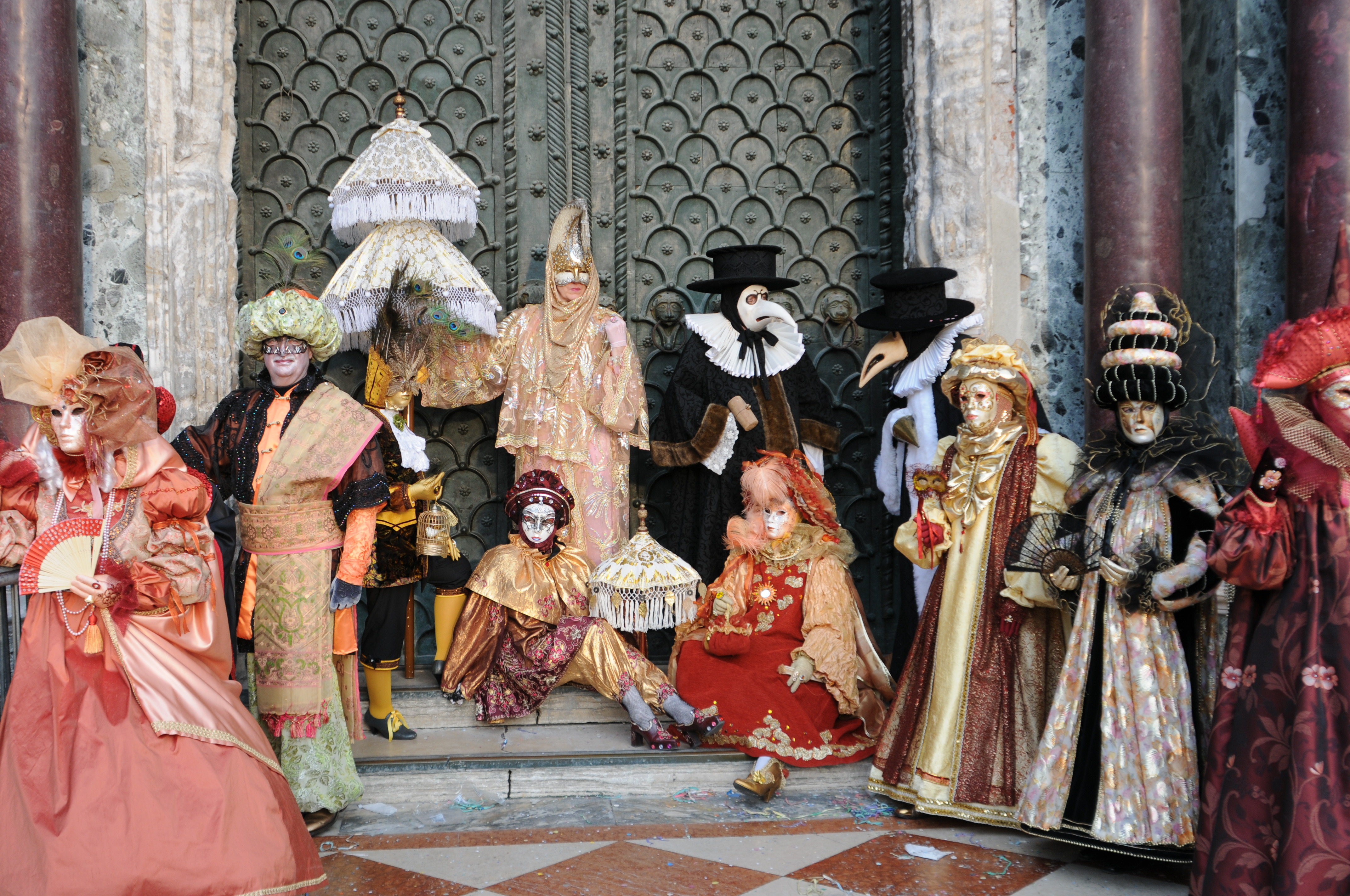 Nice Images Collection: Carnival Of Venice Desktop Wallpapers