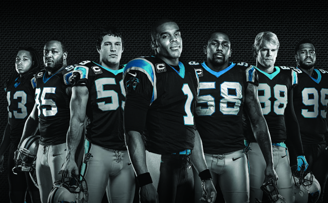 HD Quality Wallpaper | Collection: Sports, 659x407 Carolina Panthers