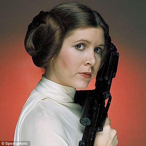 Nice Images Collection: Carrie Fisher Desktop Wallpapers