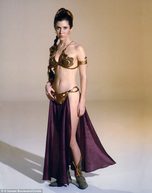 Carrie Fisher High Quality Background on Wallpapers Vista