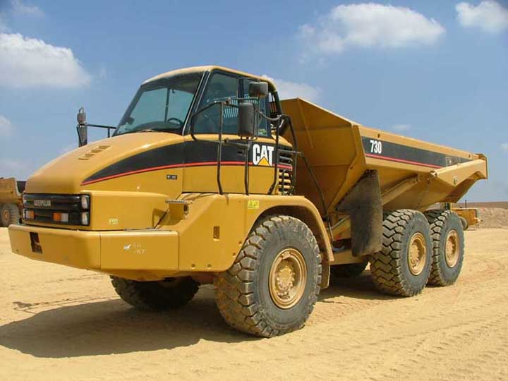 HD Quality Wallpaper   Collection: Vehicles, 720x540 Caterpillar 730
