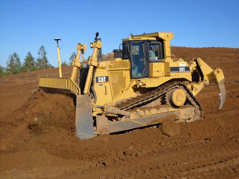 HD Quality Wallpaper | Collection: Vehicles, 800x600 Caterpillar D9t