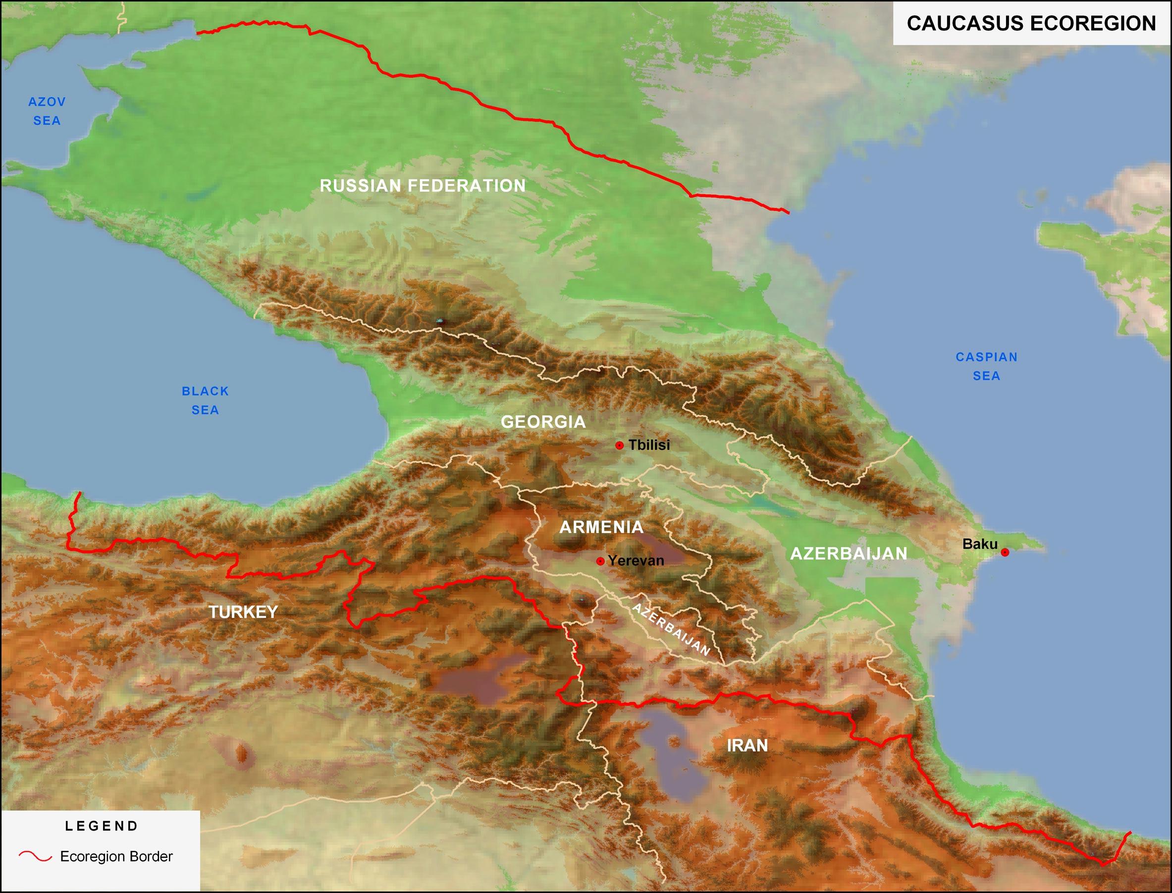 High Resolution Wallpaper | Caucasus 2366x1804 px