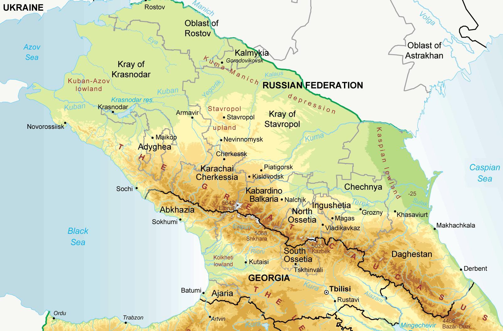 Caucasus #4