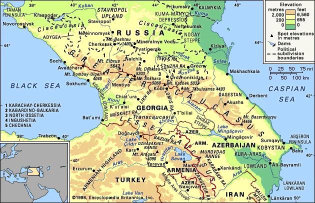 Images of Caucasus | 630x406