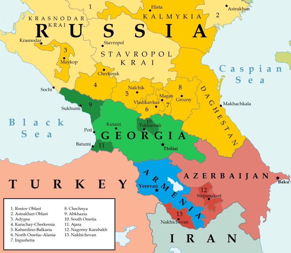 Amazing Caucasus Pictures & Backgrounds