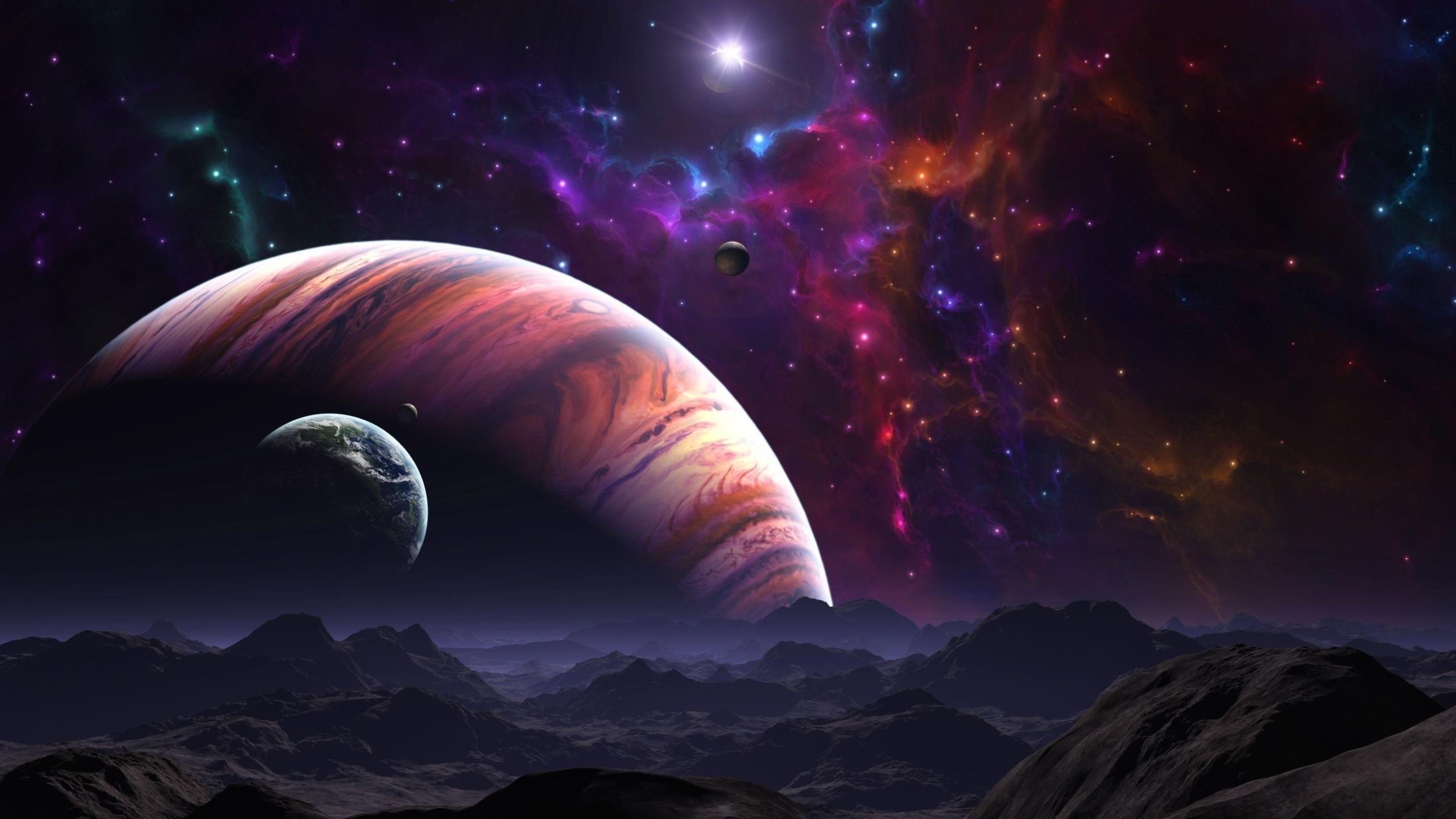 High Resolution Wallpaper | Celestial 2560x1440 px