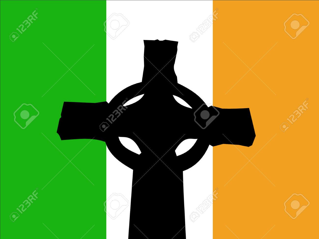 1300x975 > Celtic Cross Flag Wallpapers