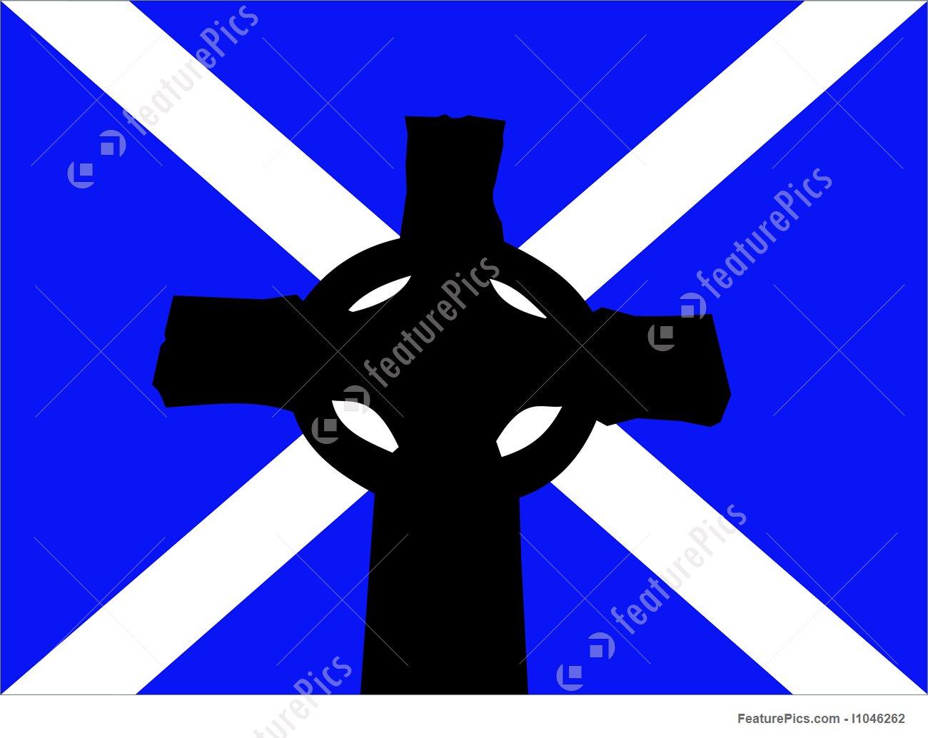 High Resolution Wallpaper | Celtic Cross Flag 1300x1034 px