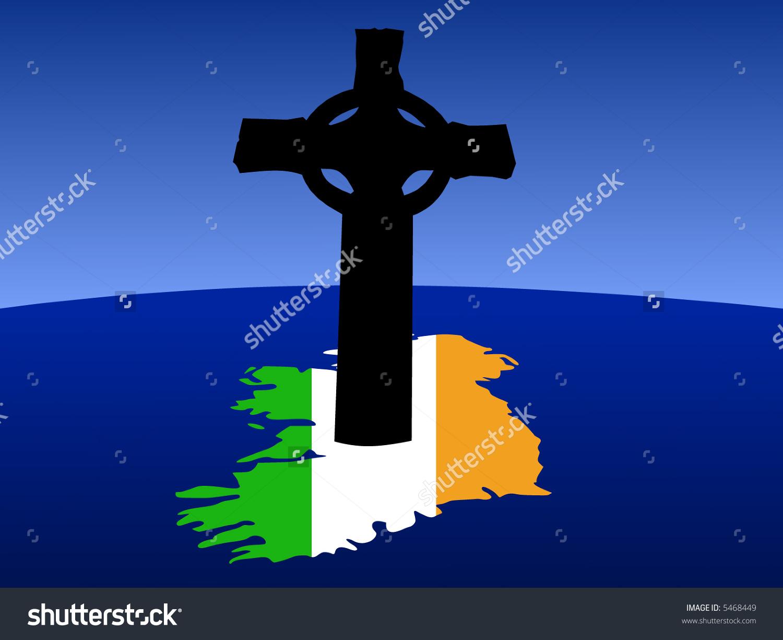 High Resolution Wallpaper | Celtic Cross Flag 1500x1225 px