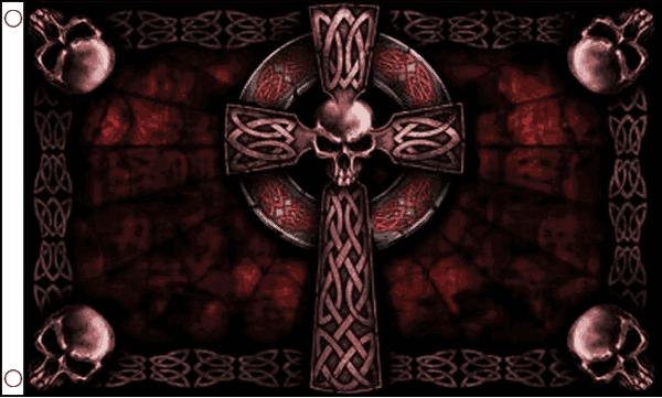 Nice Images Collection: Celtic Cross Flag Desktop Wallpapers