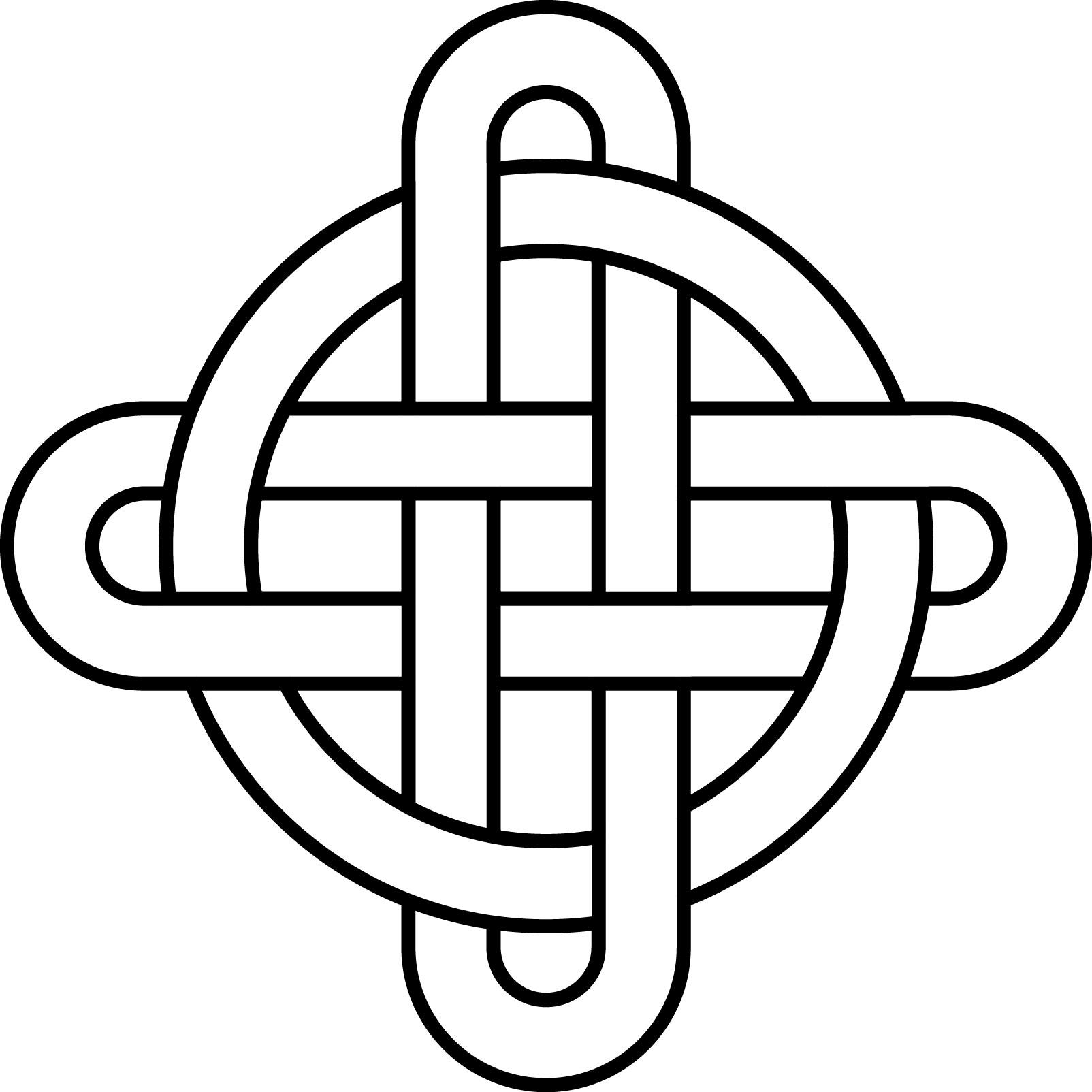 High Resolution Wallpaper | Celtic Knot 1604x1604 px