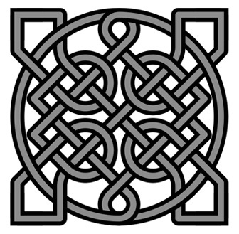 Nice wallpapers Celtic Knot 336x329px