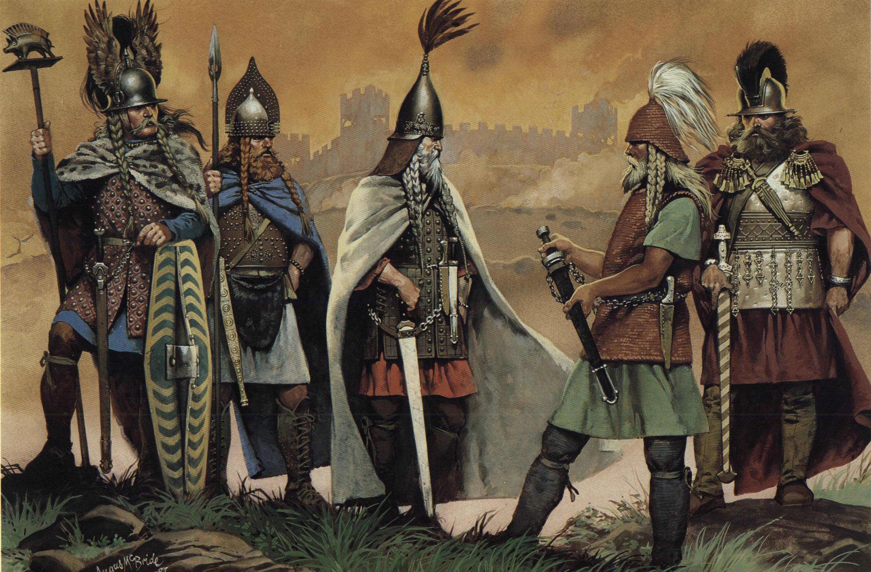 Celtic Warriors Backgrounds, Compatible - PC, Mobile, Gadgets  3050x2000 px