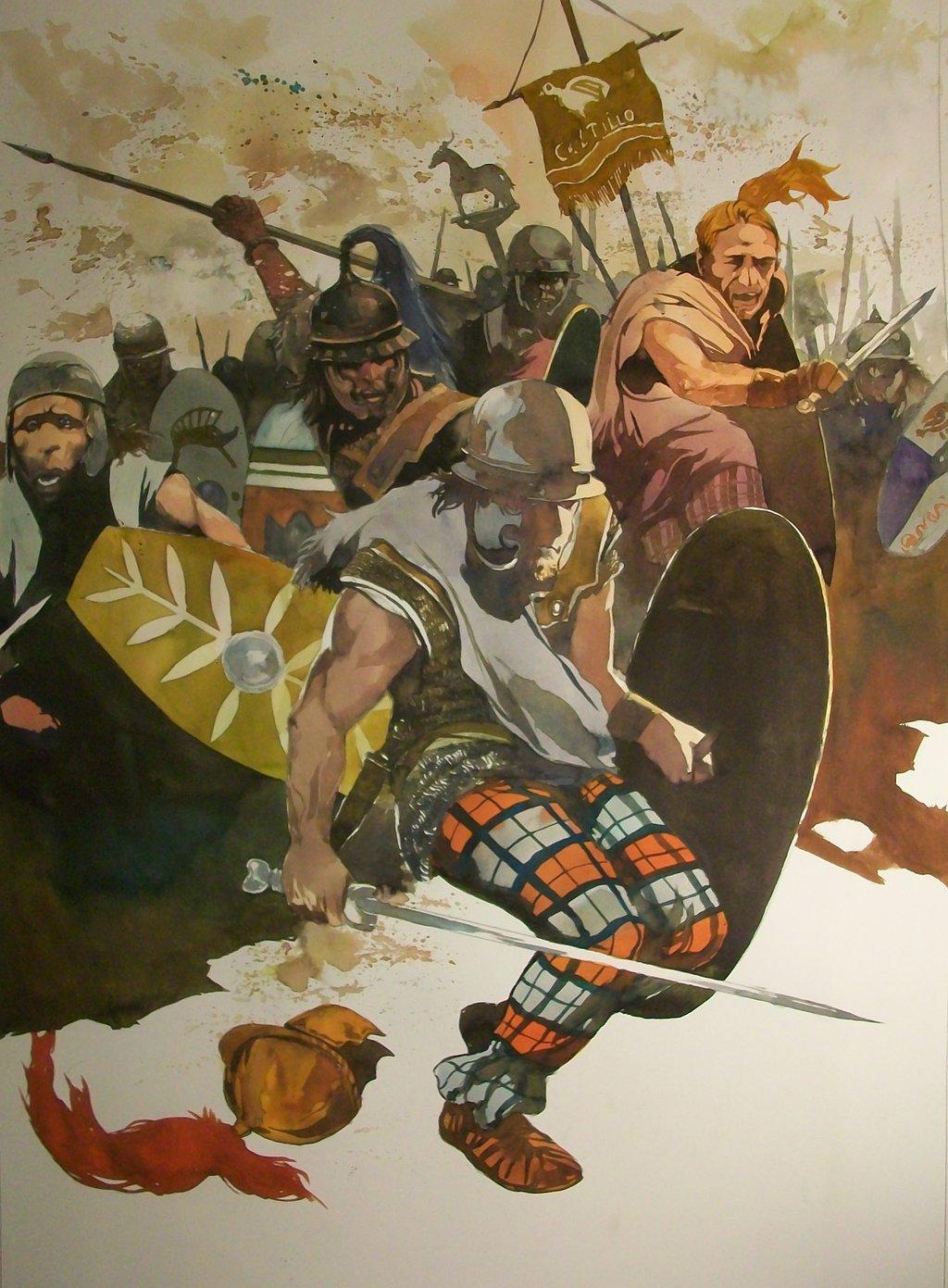 High Resolution Wallpaper   Celtic Warriors 1024x1391 px