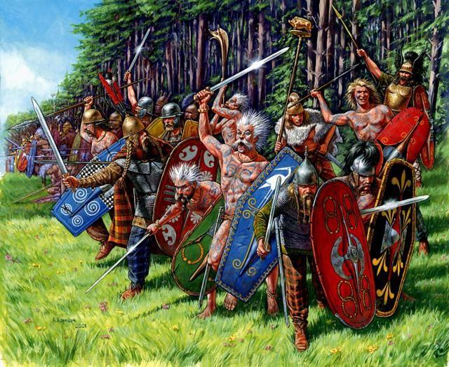 High Resolution Wallpaper   Celtic Warriors 640x524 px
