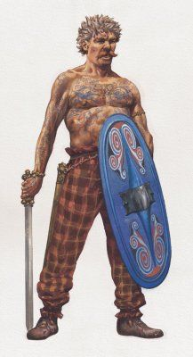 HD Quality Wallpaper   Collection: Artistic, 217x400 Celtic Warriors