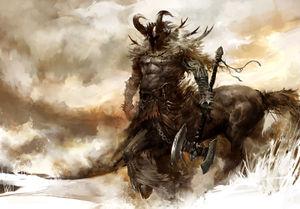 HD Quality Wallpaper | Collection: Fantasy, 300x209 Centaur