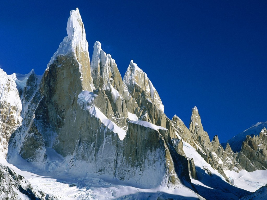 HD Quality Wallpaper | Collection: Earth, 1024x768 Cerro Torre