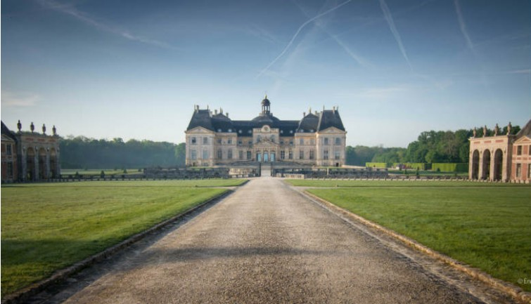 Vaux-le-Vicomte Backgrounds, Compatible - PC, Mobile, Gadgets| 755x433 px