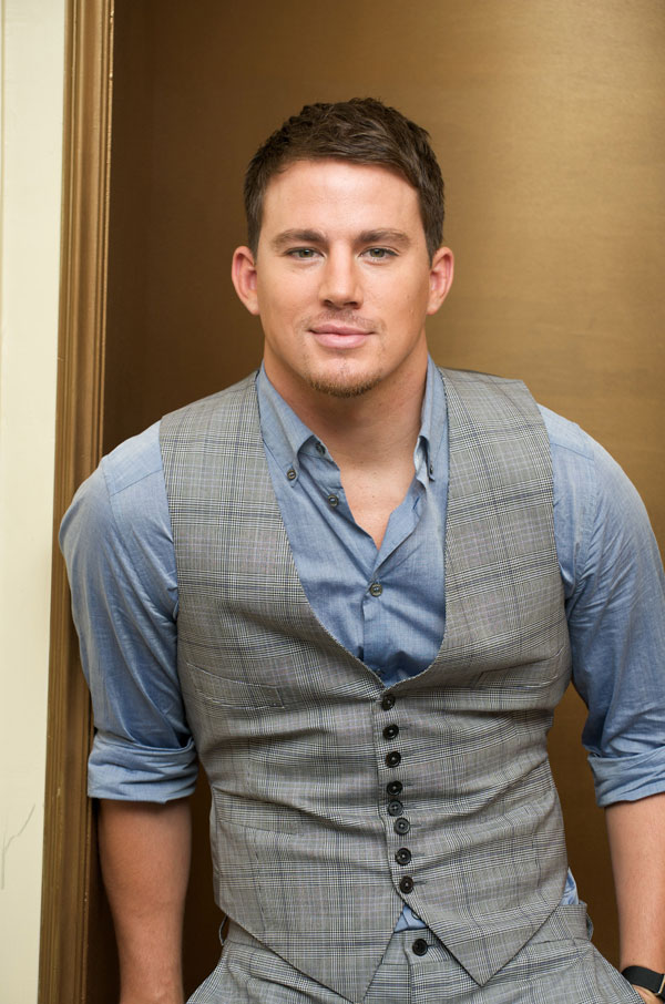 Nice Images Collection: Channing Tatum Desktop Wallpapers