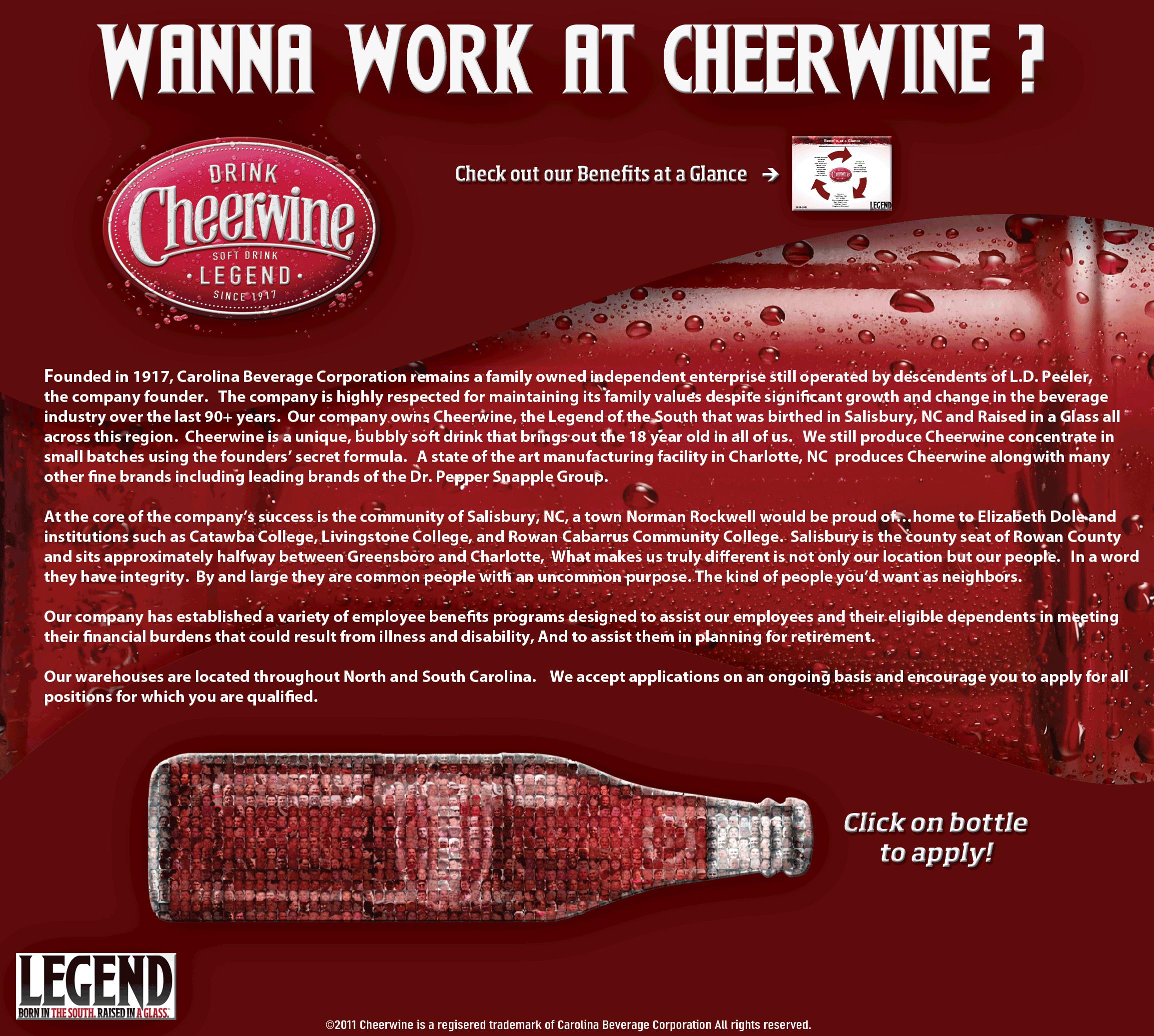 Nice Images Collection: Cheerwine Desktop Wallpapers