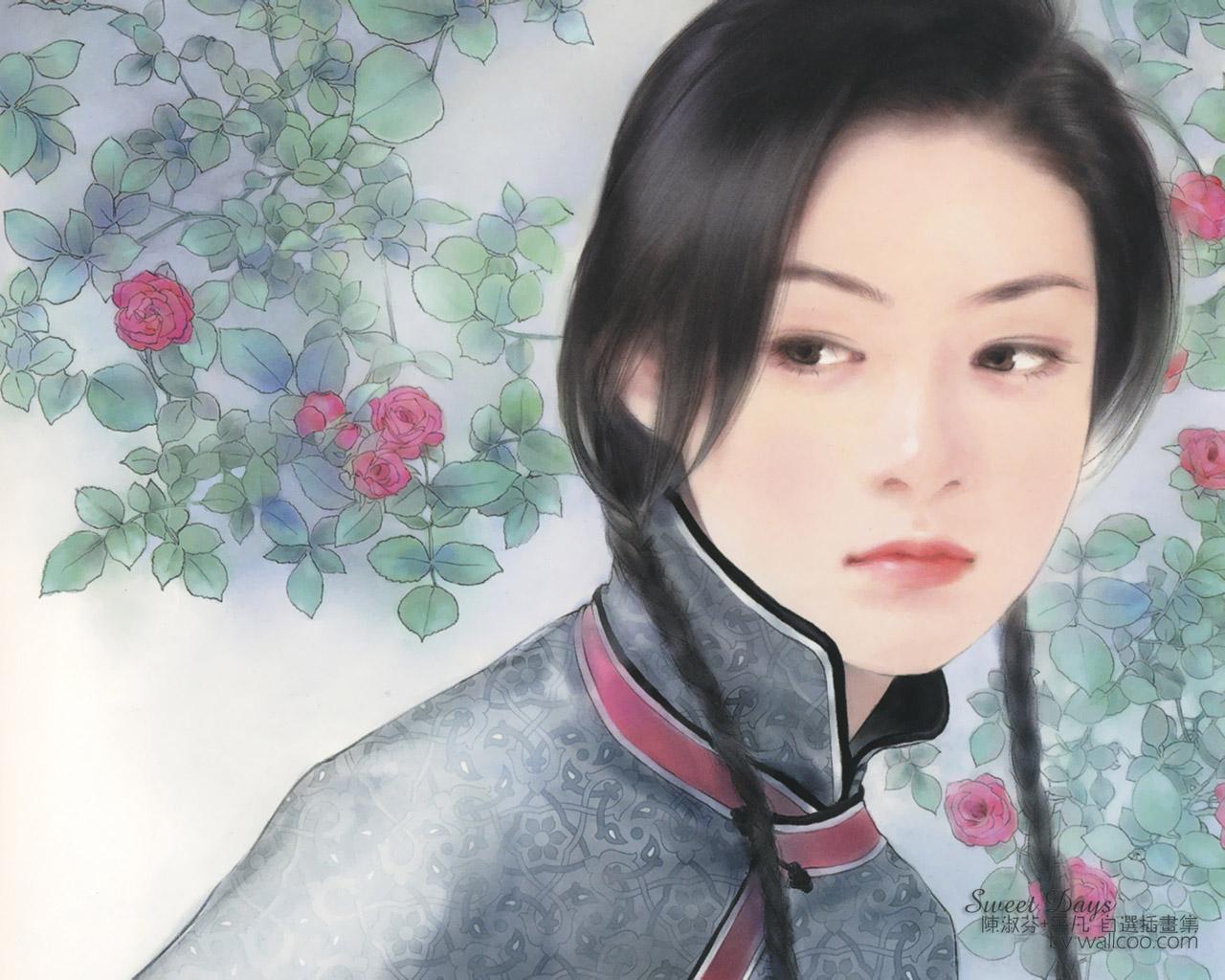 Nice wallpapers Chen Shu 1280x1024px