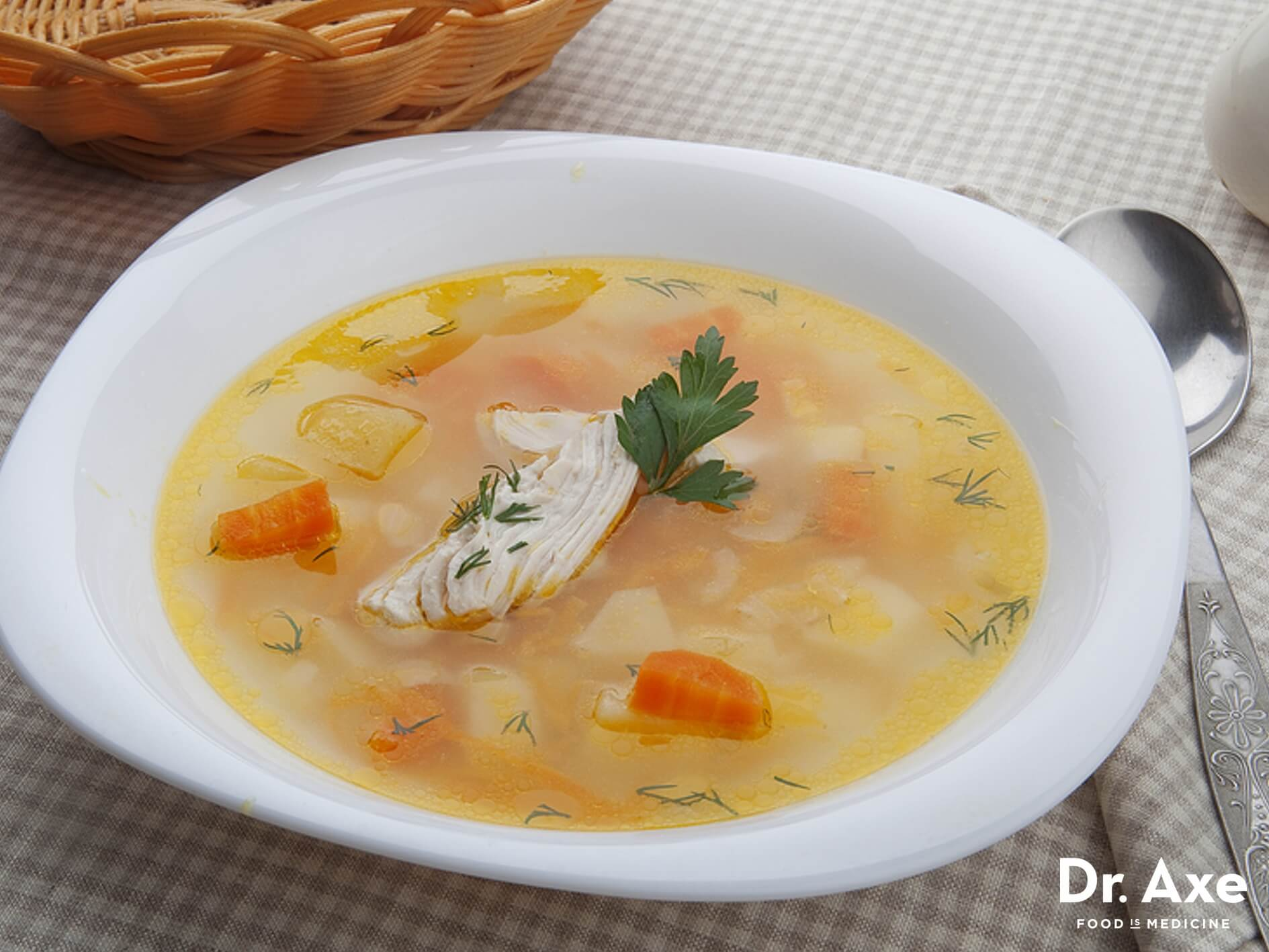 HD Quality Wallpaper | Collection: Food, 1889x1417 Chicken Soup