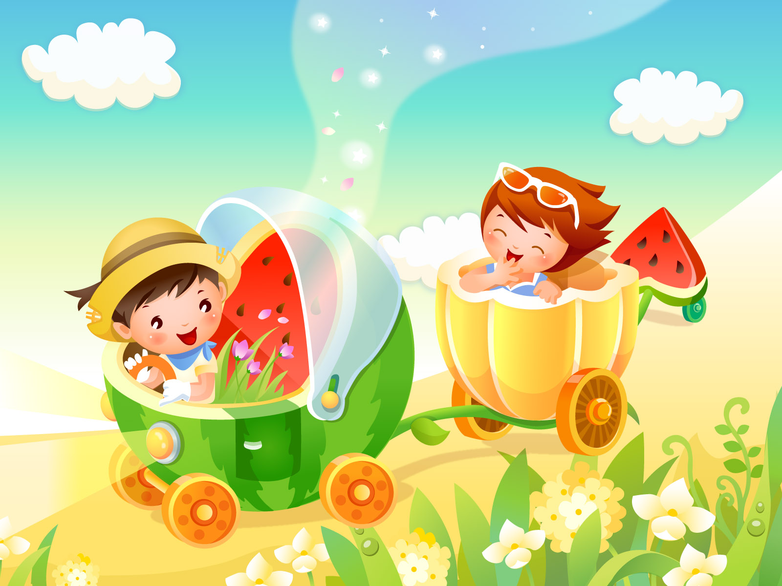Nice Images Collection: Childhood Dream Desktop Wallpapers
