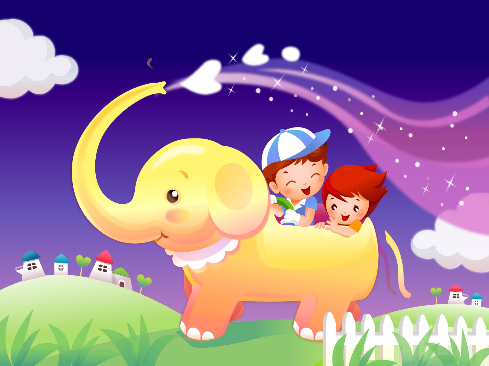 Nice wallpapers Childhood Dream 1600x1200px
