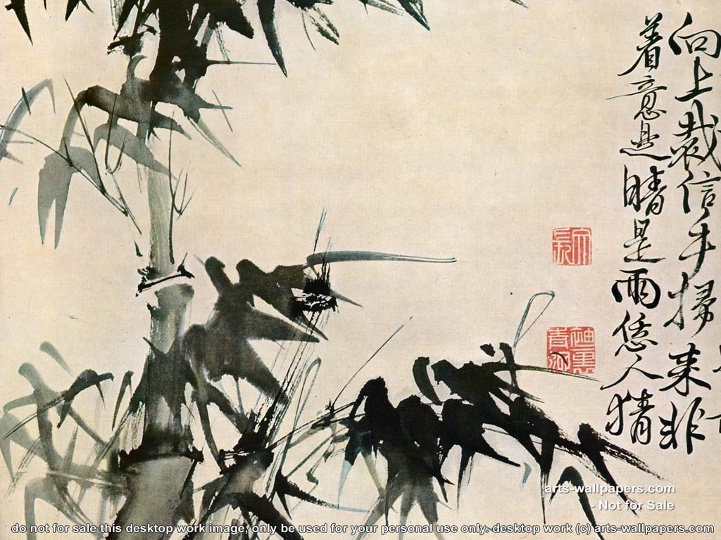 Chinese Artwork Backgrounds, Compatible - PC, Mobile, Gadgets| 1024x768 px