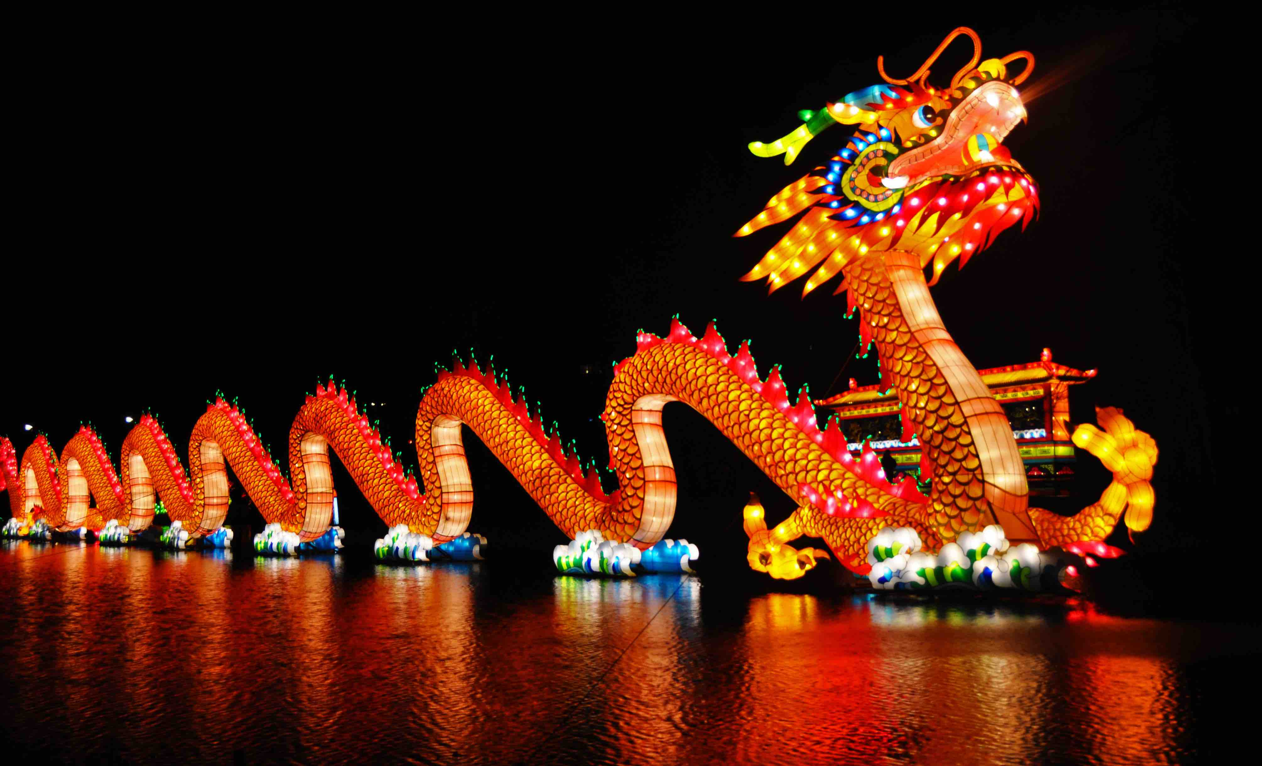HD Quality Wallpaper | Collection: Holiday, 4019x2441 Chinese New Year