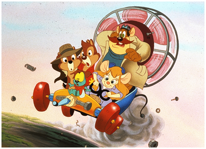 HQ Chip 'n Dale Rescue Rangers Wallpapers | File 146.58Kb