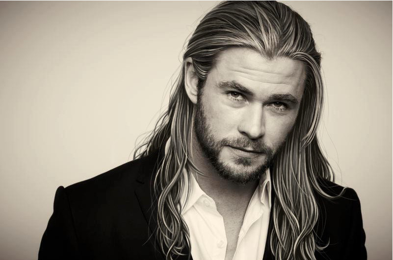 High Resolution Wallpaper | Chris Hemsworth 801x531 px