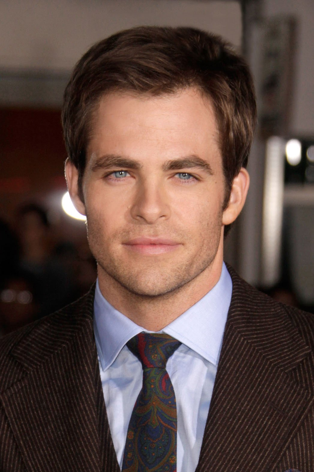 Nice Images Collection: Chris Pine Desktop Wallpapers