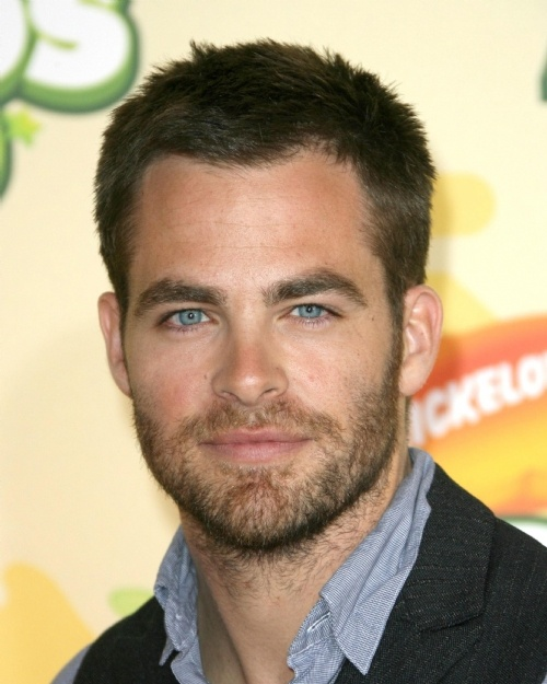 Nice wallpapers Chris Pine 500x625px