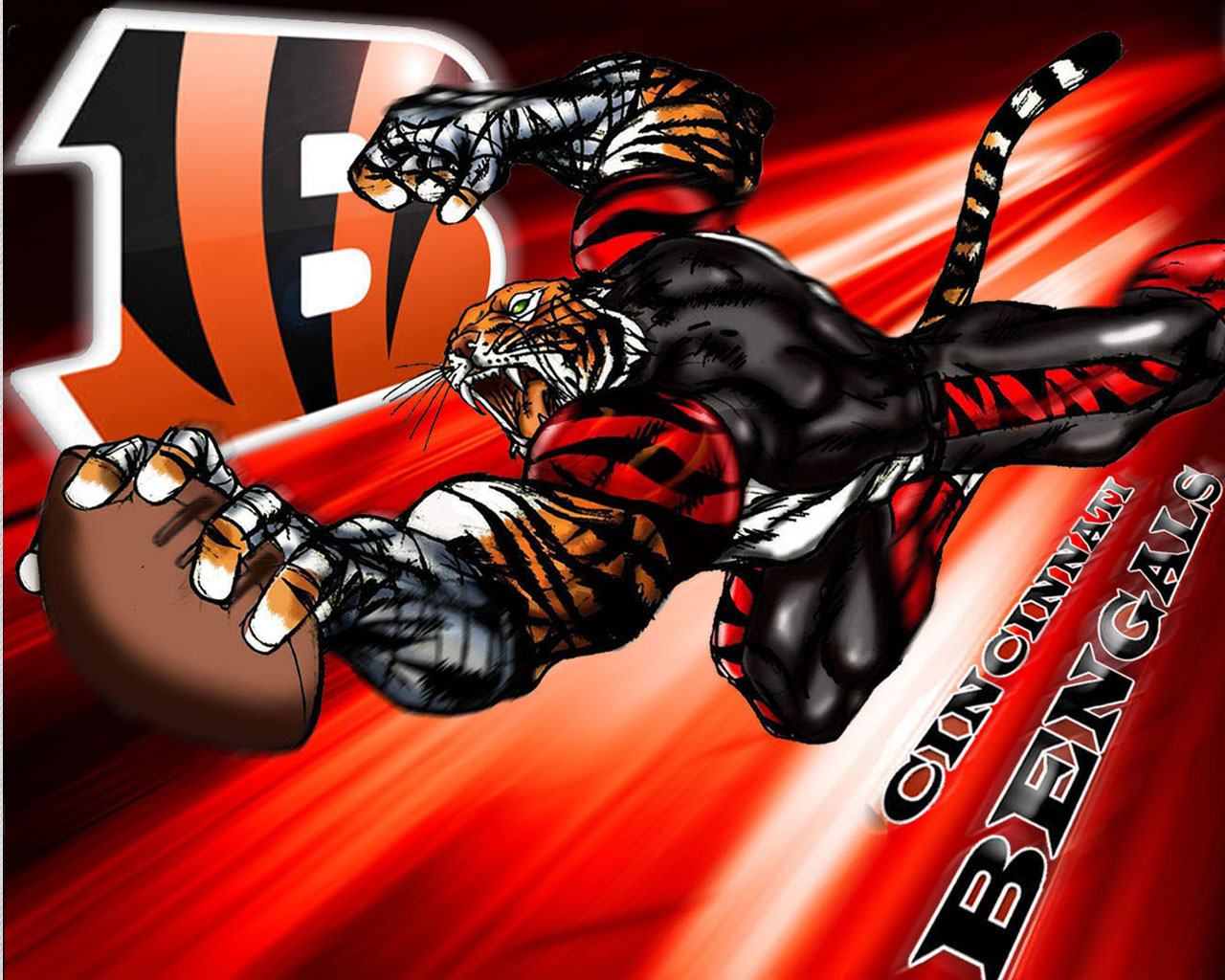 High Resolution Wallpaper | Cincinnati Bengals 1280x1024 px