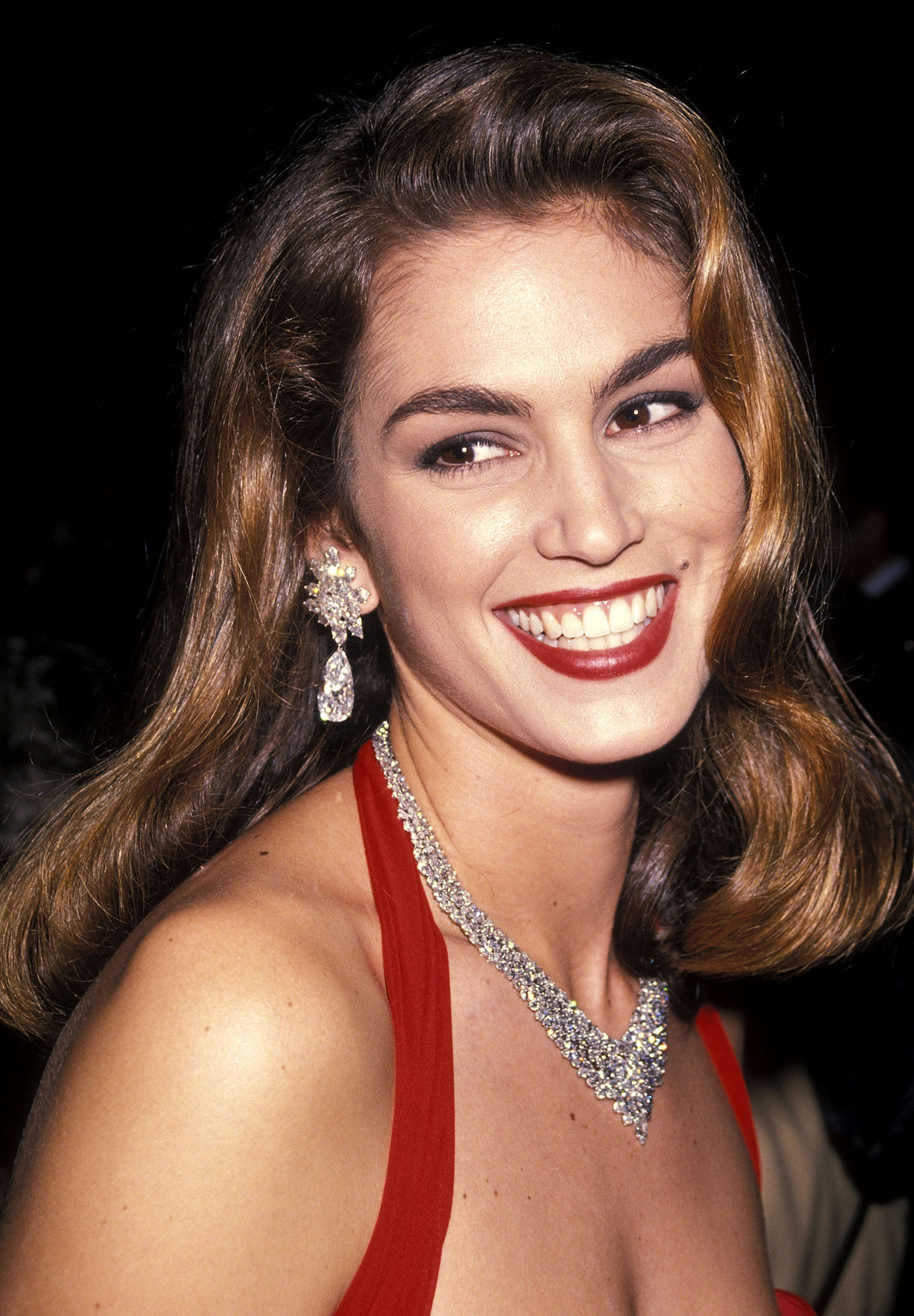 Nice Images Collection: Cindy Crawford Desktop Wallpapers