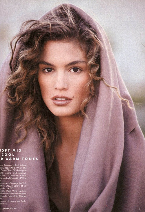 Nice wallpapers Cindy Crawford 500x728px