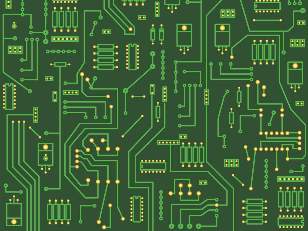 Circuit Backgrounds, Compatible - PC, Mobile, Gadgets| 1024x768 px