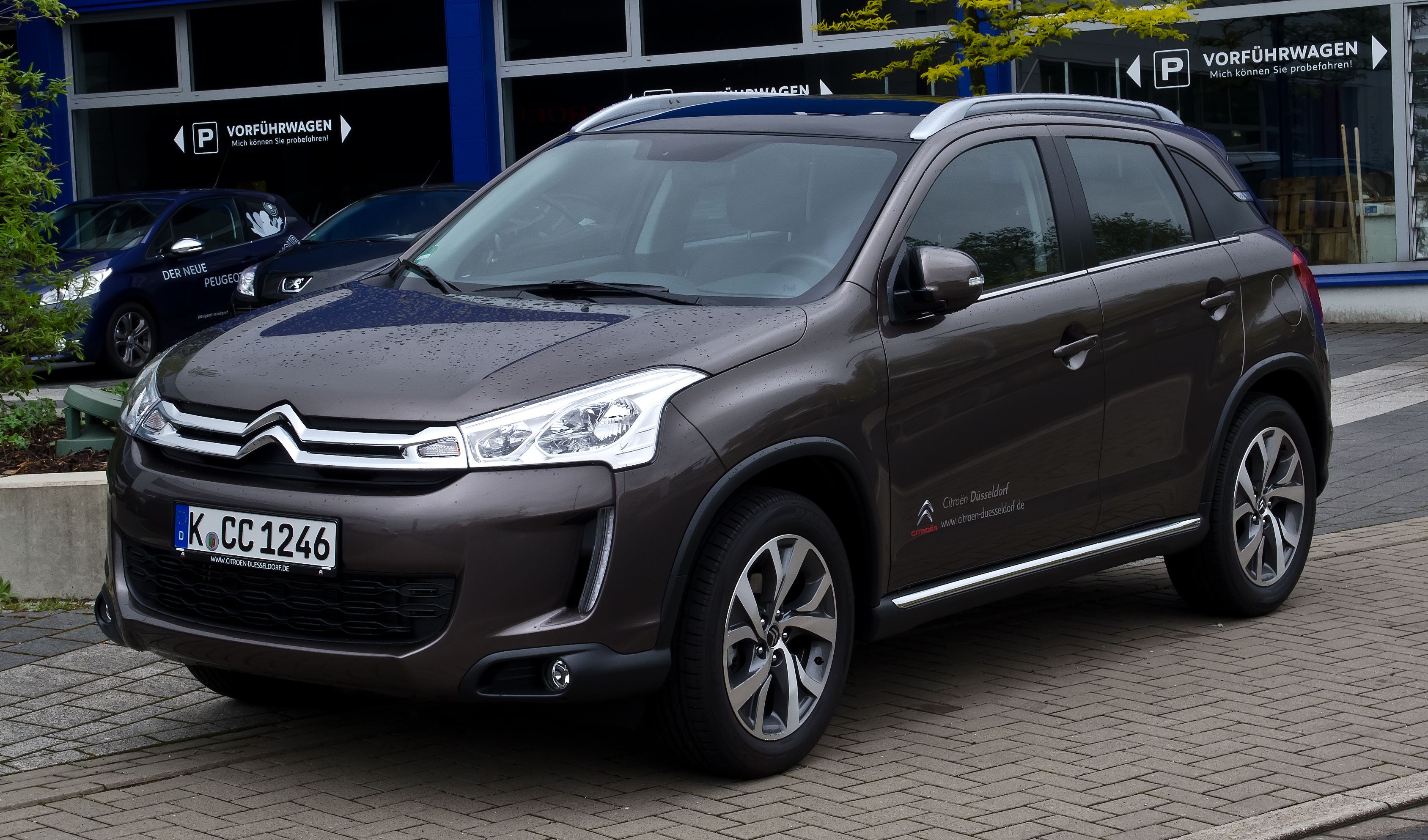 Citroen C4 Aircross Wallpapers Vehicles Hq Citroen C4 Aircross