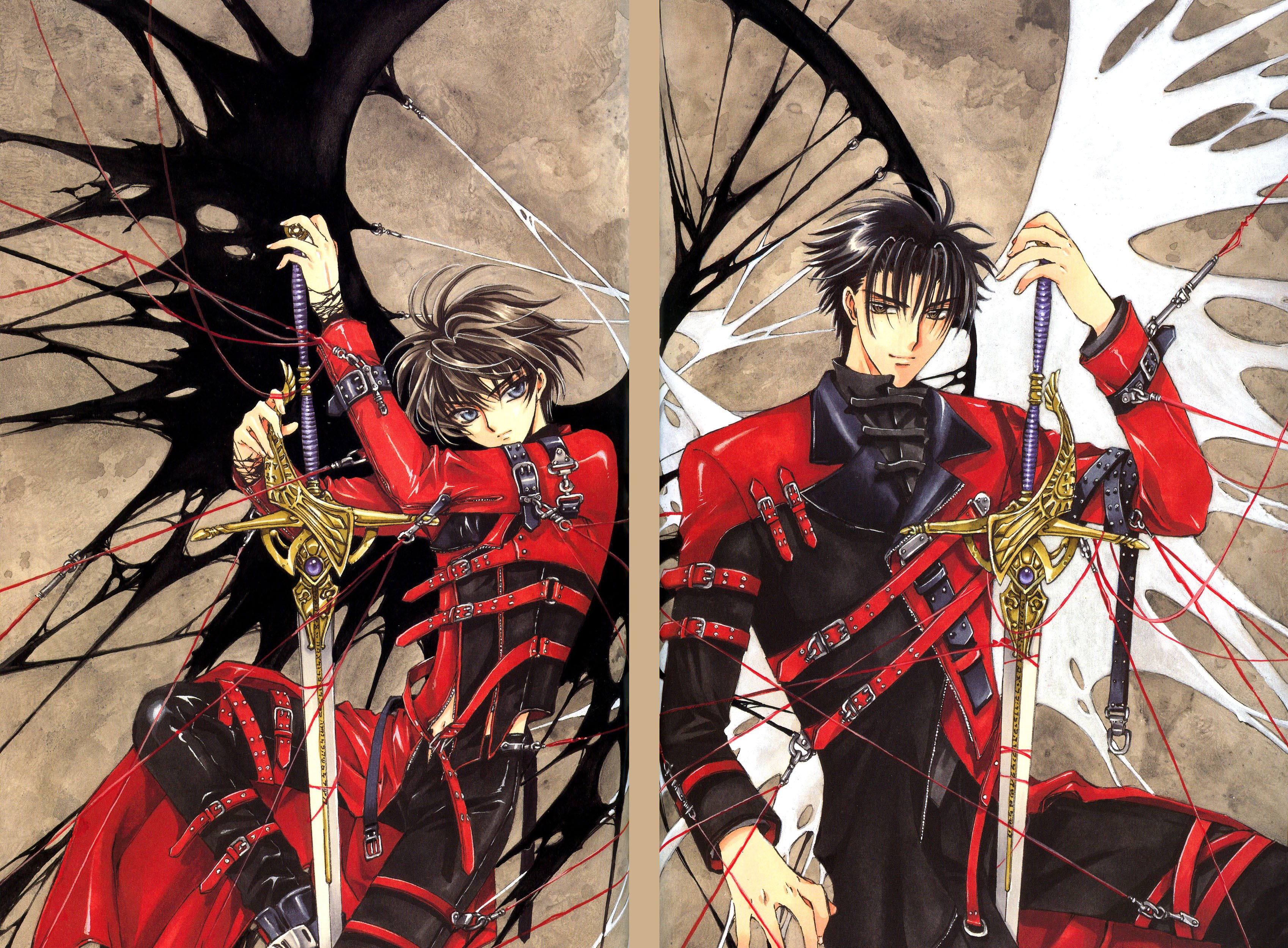 Nice wallpapers Clamp X 3395x2500px