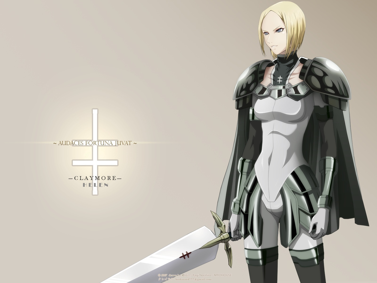 Nice Images Collection: Claymore Desktop Wallpapers