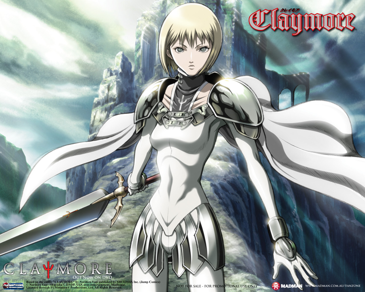Claymore Backgrounds on Wallpapers Vista