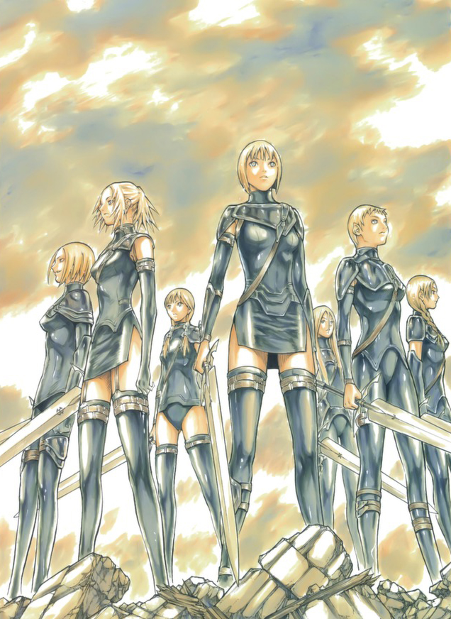 636x872 > Claymore Wallpapers