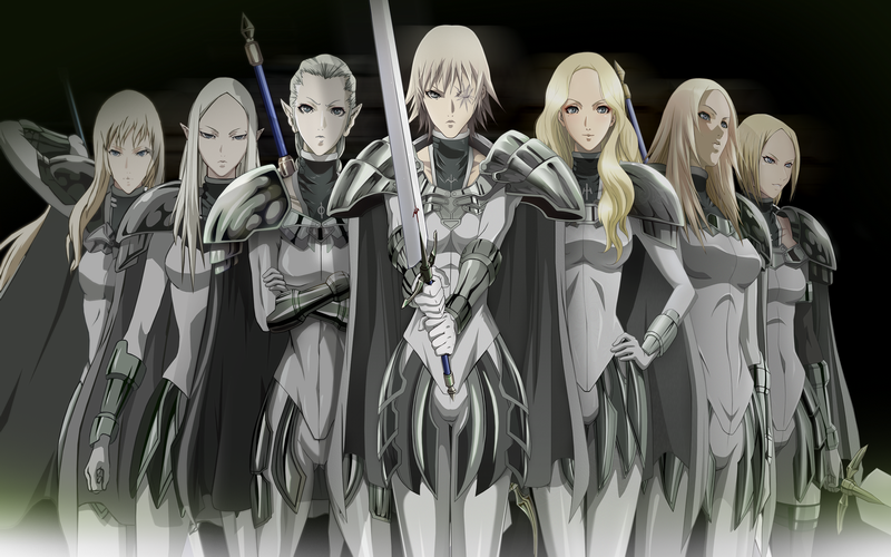 HD Quality Wallpaper | Collection: Anime, 800x500 Claymore